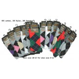 12 Pairs Assorted Argyle Dress Sock..