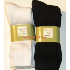 6 Pack  premium thick N thin cotton crew socks 10-13 - men's