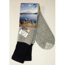 Ballston Big and Tall Charcoal Dry Knit Boot Socks
