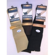 Big & Tall Cool-max padded compression support over the calf socks-men's