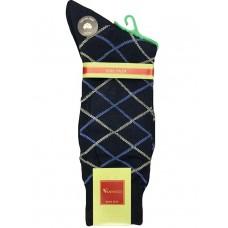 30% Off 3prs Black Big & Tall Mercerized Cotton Dress Socks 13 -16