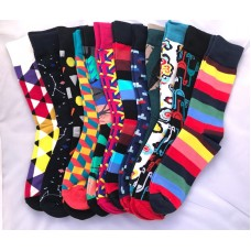 12 Pack Crazy Fun cotton Pattern Sock