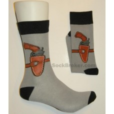 Gun Holster casual dress socks