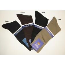 Windsor genuin spun silk dress socks- men's