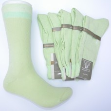 Mercerized Cotton Apple Mint Green Dress Socks