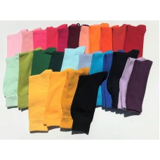 6 Pairs Men's Solid Cotton Dress Socks Size 7-12