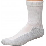 6 Pk Cushioned Gray Bottom Cotton B..