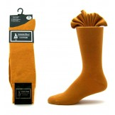 Premium cognac brown cotton dress s..