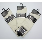 Premium Ivory Cotton Dress Socks