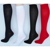 6 pairs Sockbroker solid cotton kne..