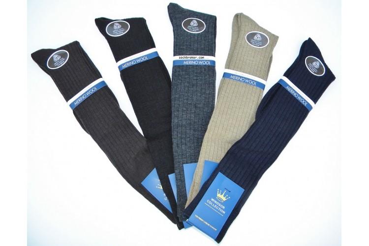 6ef95bcf78a1 Windsor Merino Wool Over The Calf socks-OTC