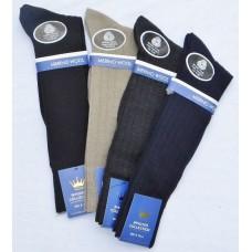 Windsor fine ribbed merino wool dress trouser socks
