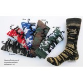 3 Pairs of Camouflage Thick N Thin ..