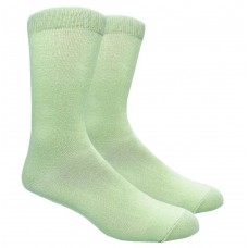 Premium Mint Green Cotton Dress Socks Men's