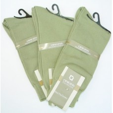 Sage Green Cotton Dress Socks-men