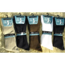 6 Pack Florsheim comfort non elastic diabetic dress socks
