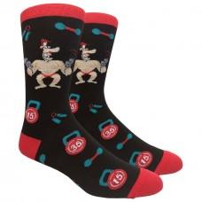Novelty Body Building Socks