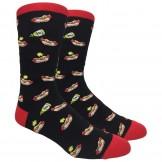 Novelty Hot Dog Socks