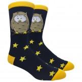 Novelty Wise Owl Cotton Socks Size ..