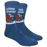 Novelty Gone Fishing Socks