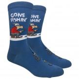 Novelty Gone Fishing Socks