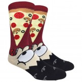 Novelty Pizza Socks