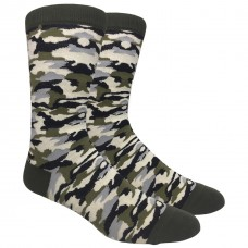 Cotton Camouflage Dress Socks