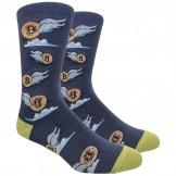 Novelty Bitcoin Socks