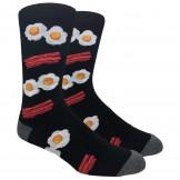 Novelty Bacon and Egg Socks