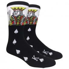 King of spade gambler cotton dress socks size 8-12