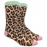 Novelty Leopard Socks