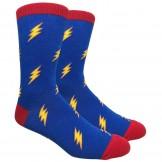 Novelty Lighting Bolt Socks