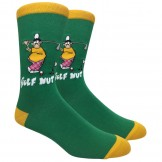 Novelty Golf Nut Cotton Socks