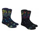 Novelty Paisley Socks