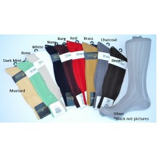 Stacy Adams Textured rayon dress socks  SZ 8-12