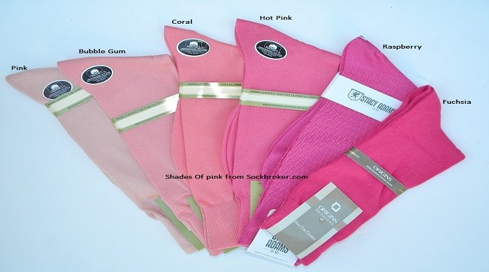 Pink Socks For Men