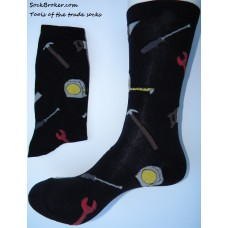 Handy man construction cotton dress socks  SZ 6-12