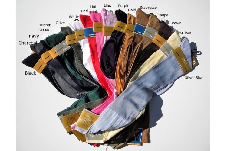 3-Pack Mens Silk Dress Socks//Mens Sheer Dress Socks//Mens Nylon Dress Socks