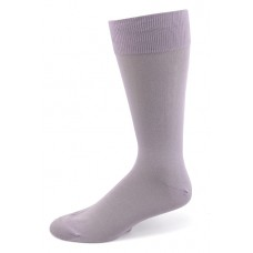 Lilac Cotton Dress Socks-Men's