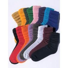 12 PK Of Premium 95% Cotton Slouch Socks Size 5-9