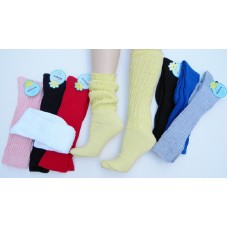 3 Pairs Heavy slouch knee high socks for shoe size 5-9