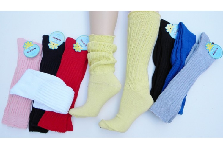 1a528b6cd Heavy slouch knee high socks for shoe size 5-9