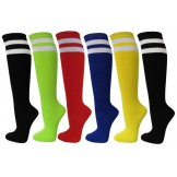 3 Pack Double Striped Referee Knee ..
