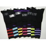 12 pack assorted black triple strip..