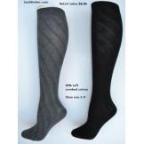 Sockbroker swirl solid cotton knee ..