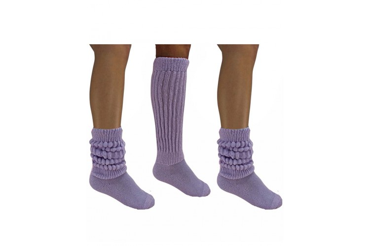 Heavy Slouch Knee High Socks For Shoe Size 5 9
