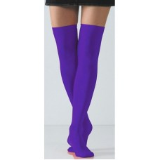 Purple / violet over the knee thigh hi socks