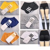 Retro Old School Cotton Shorts with..